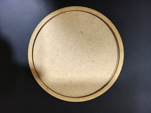 Circular Coaster for Resin- Set of 3