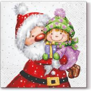 Cute Christmas - Decoupage Napkin