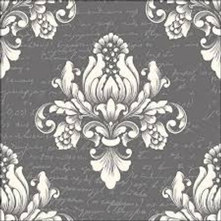 Barok Grey- Decoupage Napkin