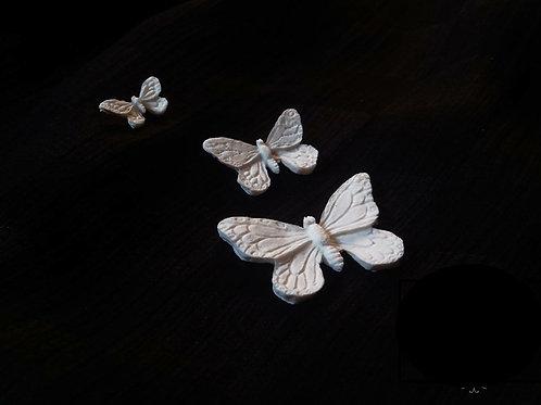 Set Of Butterflies Resin Cast