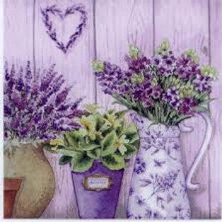 Purple Bunch - Decoupage Napkin