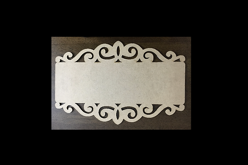 Designer Name Plate (Design 8) - MDF product