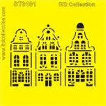 House - Stencil - 6.3 x 6.3