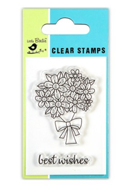 Greetings - Little Birdie Clear Stamp