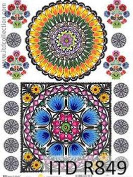 Polish Pattern - Rice Paper