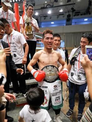 ボクシング 齋藤裕太選手