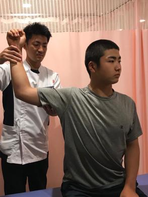 杉田接骨院治療風景
