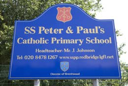 ST PETER AND PAUL'S PRIMARY
