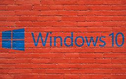 Windows 10 print on brick wall