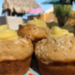 Coconut Cream Muffins // Coco Cremoso.jp
