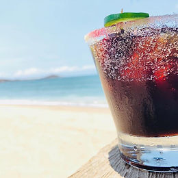 You know you want one! Blackberry-Margarita