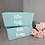 Thumbnail: Personalised Bath Bomb Storage Box - Duck Egg