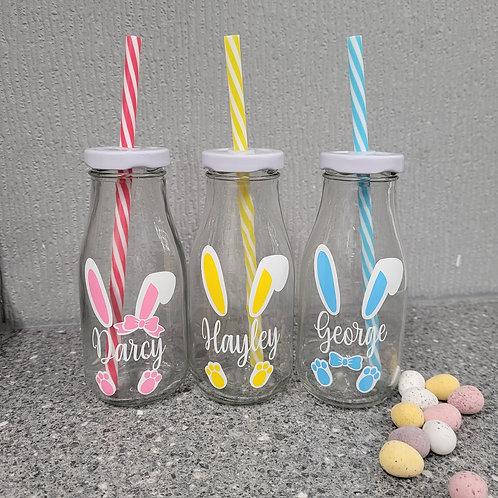 Easter Bunny Milk Bottle