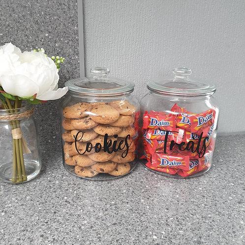 Personalised Cookie Jar