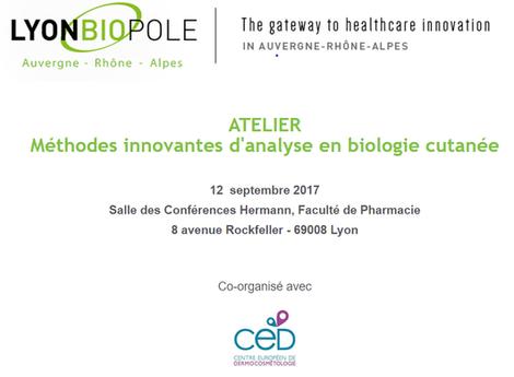Atelier : Méthodes innovantes d'analyse en biologie cutanée