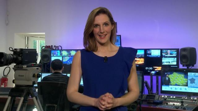 Présentation TV des actualités environne