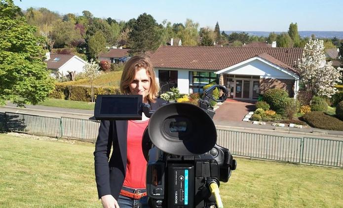 Enregistrement TV d'une actualité météo