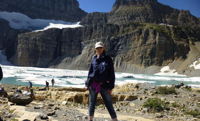 Expédition au Glacier du Montana