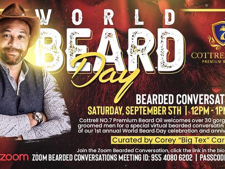 Celebrate World Beard Day On September 5th