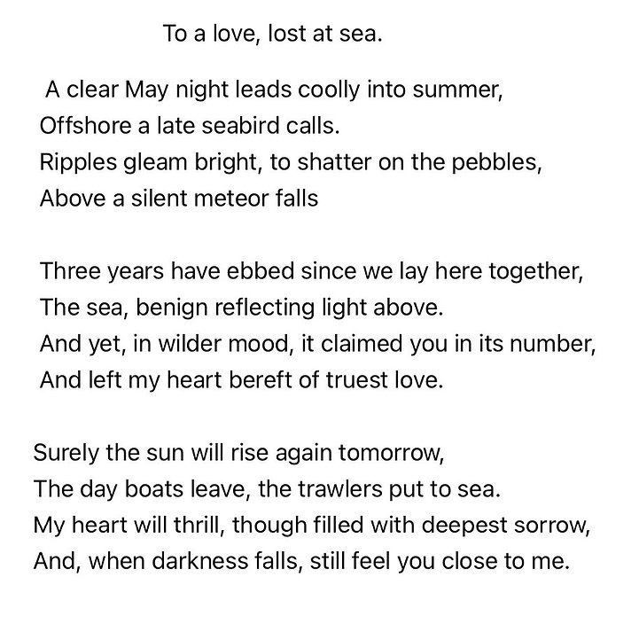 42.To a love lost at sea.jpg