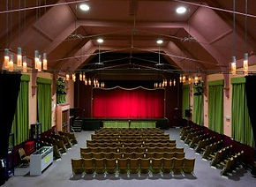 Brixham Theatre auditorium live entertainment