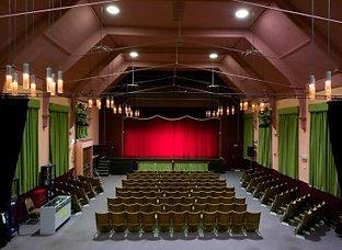 Brixham Theatre auditorium live entertainment