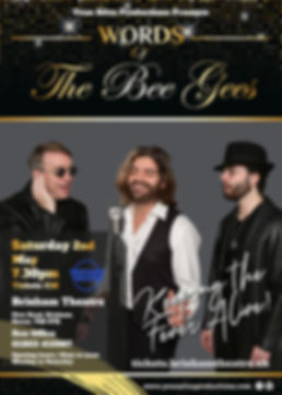 Words of The Bee Gees poster.jpg