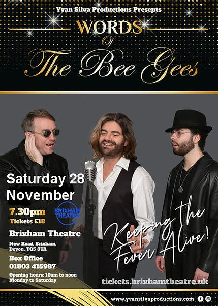 Words of The Bee Gees poster2811.jpg