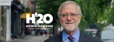 PODCAST: Dying for the Dow: Howie Hawkins discusses all things COVID-19 and the 2020 contest.