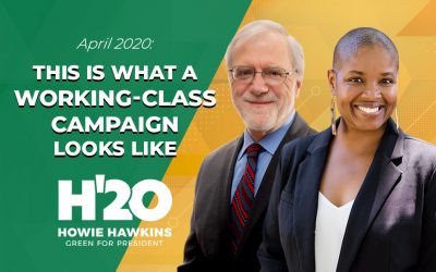 PODCAST: H20, Baby! Howie Hawkins discusses running for president and bringing the U.S. up to speed