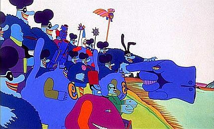 The Attack of the Blue Meanies