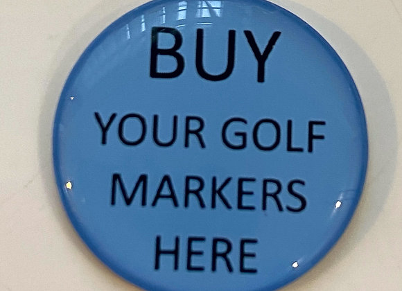 Personalised Golf Markers