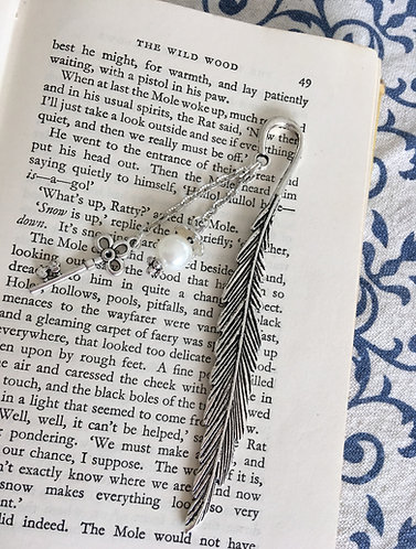 Silver Book Mark