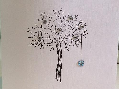 Bare Tree Aquamarine