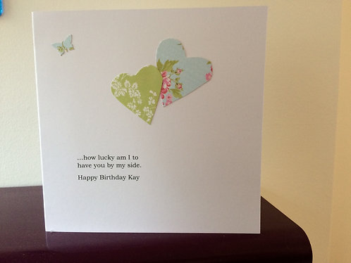 Two Hearts - Personalised