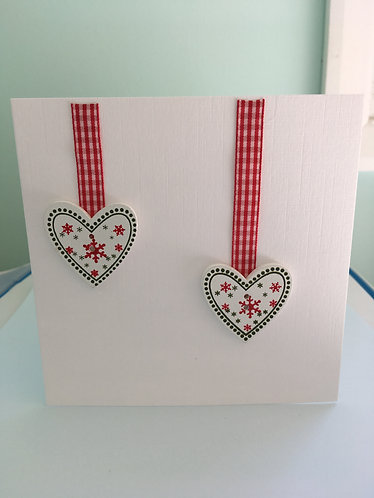 Christmas Scandi Hearts