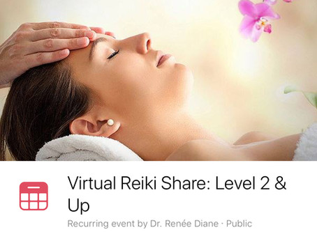 New! Virtual Reiki Energy Shares - more info to follow