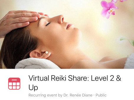 New! Virtual Reiki Energy Shares - more info to follow