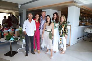 Estilistas Moda Praia anos 80, são homenageados pela modelo Magda Cotrofe no Rio de Janeiro