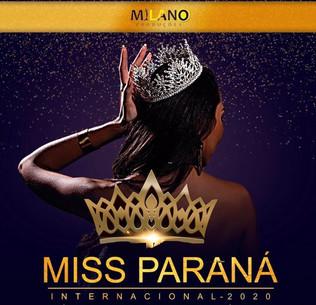 Concurso Miss Paraná  Internacional acontecerá  em novembro.