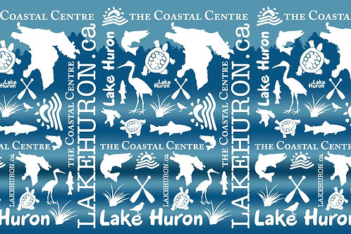 Lake Huron Multifunctional Neck Gaiter