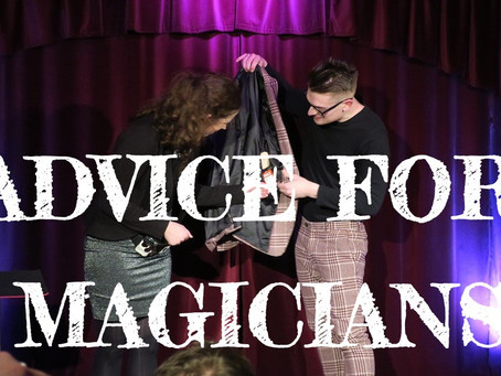 Advice for Magicians: Leeds magician Kristian Treen