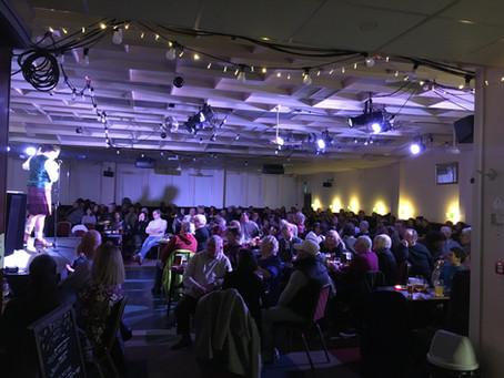 Performing at Slung Low Cabaret Night: Leeds magician Kristian Treen