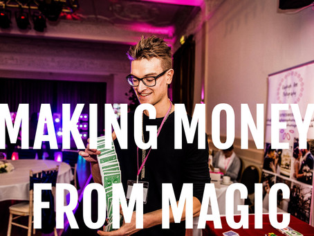 How to make money from magic: Advice from Leeds magician Kristian Treen