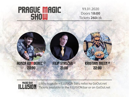 Prague Magic Show: Leeds Magician Kristian Treen