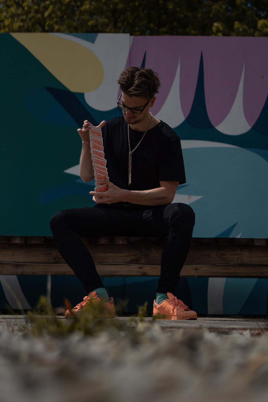 leeds magician Kristian Treen