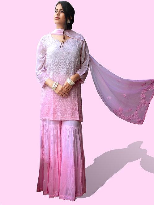 Punjabi chikankari suit