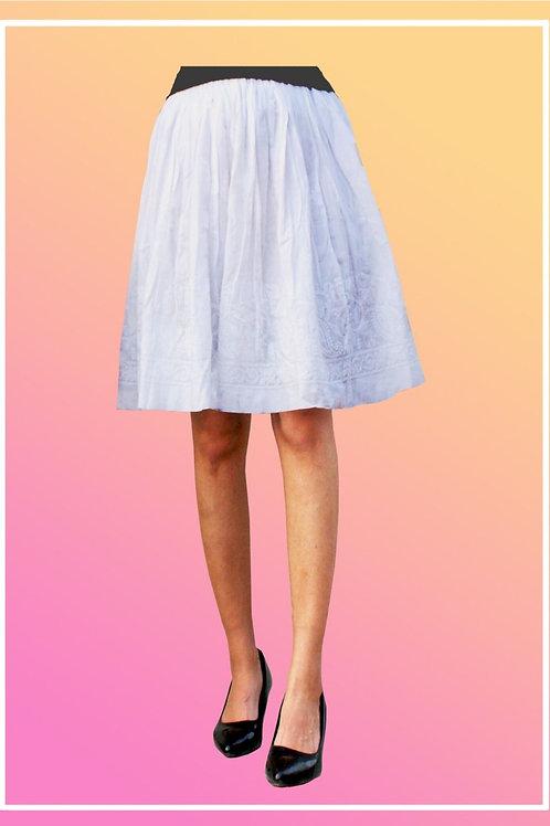 Short Cotton Skirt