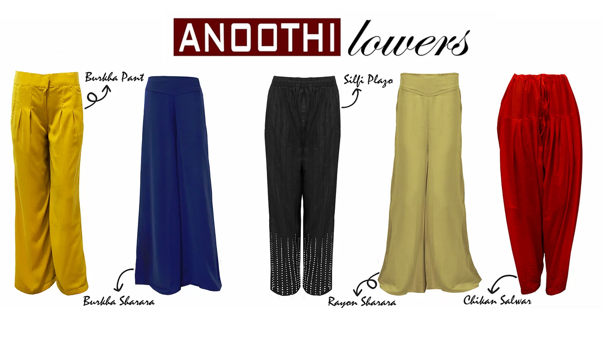 Anoothi lowers