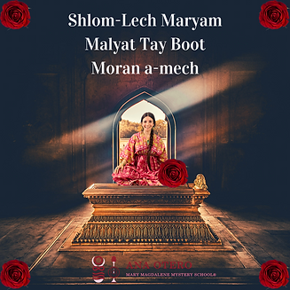 Shloml-Lech Maryam Malyat Tay Boot Moran